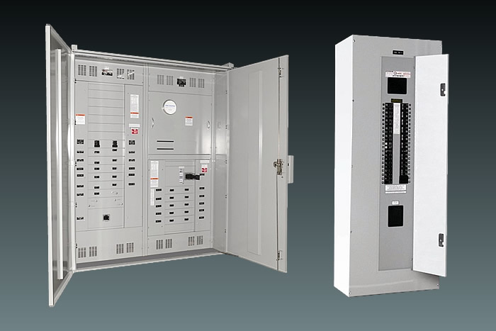 Electrical Distribution Panel With Meter : Switchboards